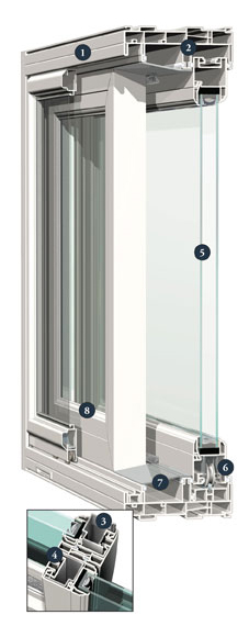 6200 Patio Door Details