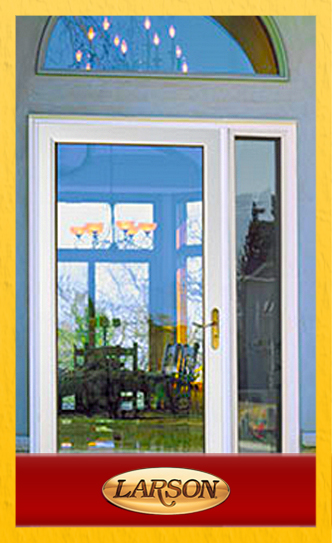 Larson Patio Storm Door Side Lites