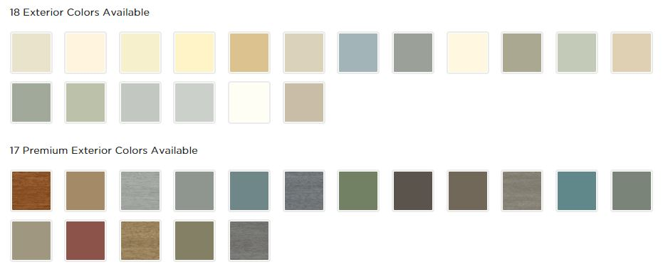 Quest Siding Color Pallet Uhlmann Home Improvement