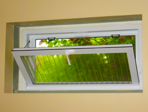 Vinyl Replacement Basement Window