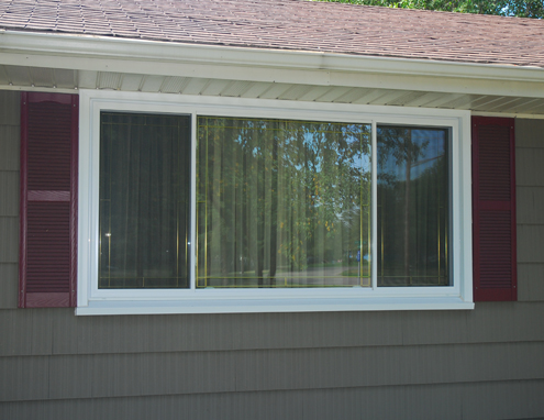 Horizontal Slider Window - Vinyl Replacement Window