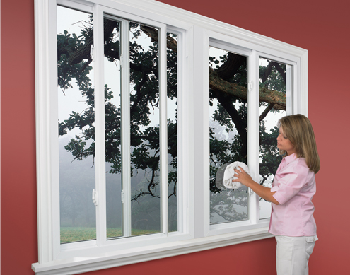 Thermo Industries Horizontal Sliding - Vinyl Replacement Window