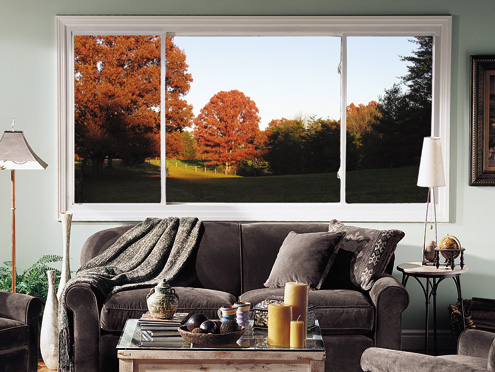 Thermo Industries Horizontal Sliding Window -Vinyl Replacement Window
