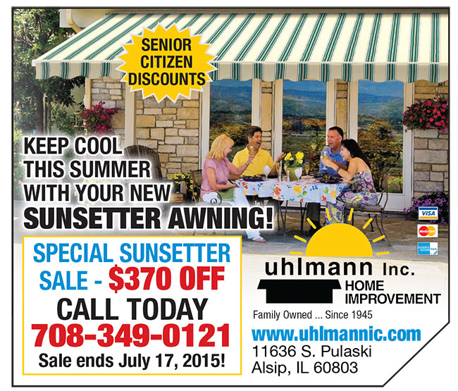 sunsetter awning advertisment