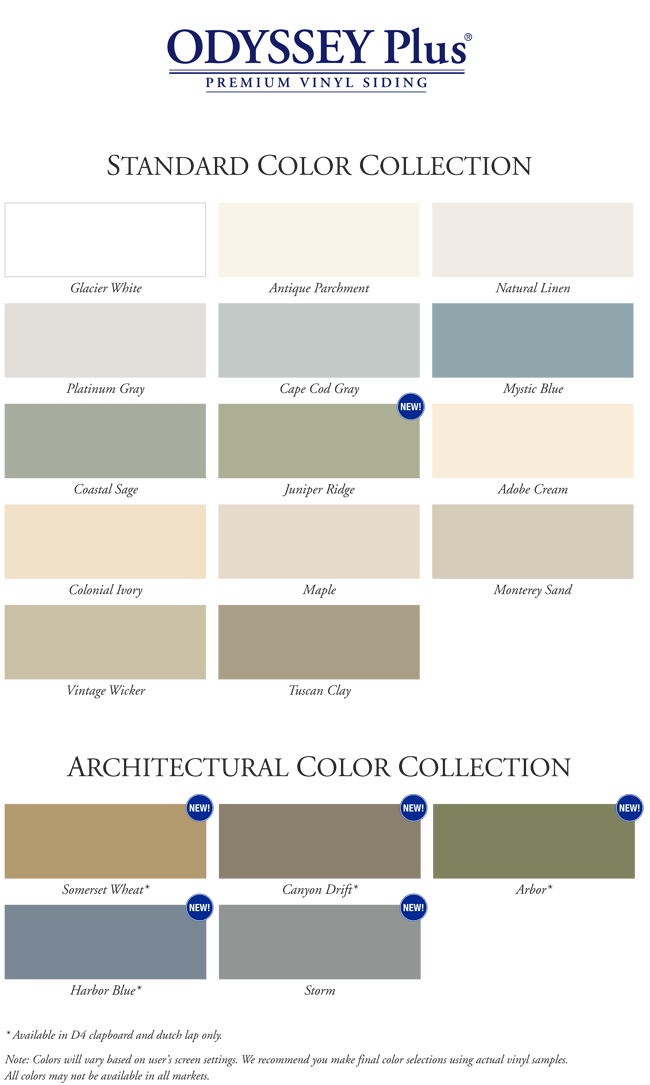 vinyl siding colors siding uhlmann home improvement 29021