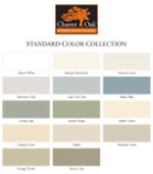 Charter Oak Color Pallet