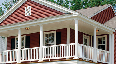 Vinyl Siding Red Uhlmann Home Improvement