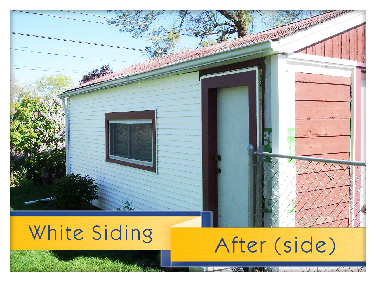 White Siding Project