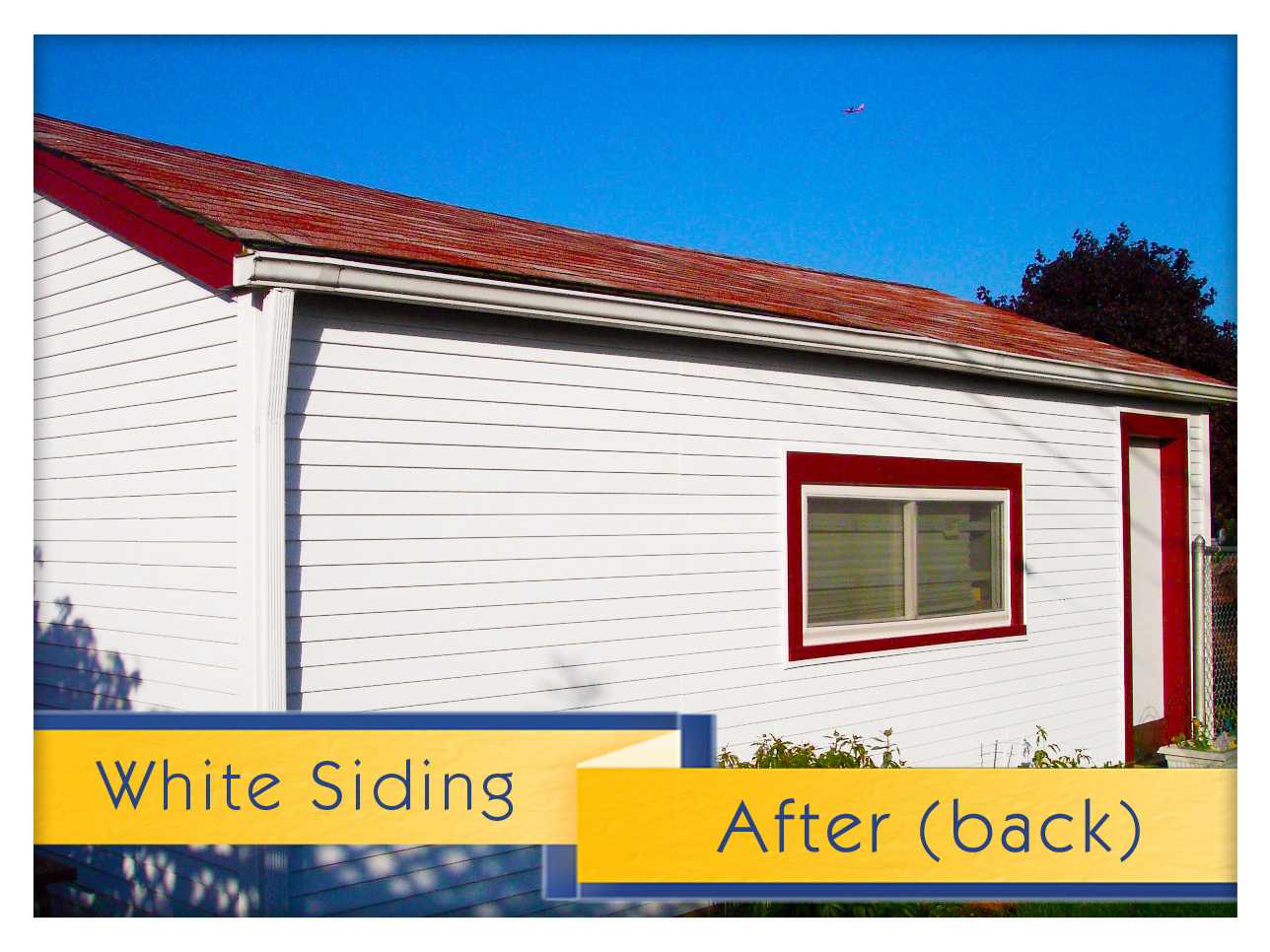 White Siding Ferraro Side Complete 8 Uhlmann Home