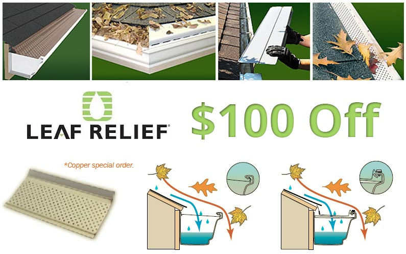 $100 off Alcoa Leaf Relief