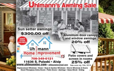 $277 off sunsetter awning