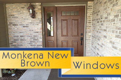 Monkena New Brown Window