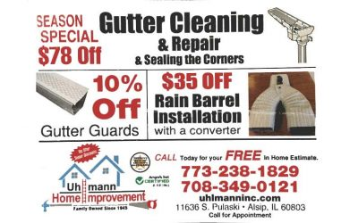 Gutter Cleaning and Repair 2017 Sale