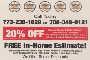 20% Off Windows – Free Home Estimates